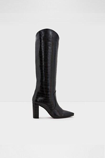 Kadın   Siyah Topuklu Çizme Havısa-tr -