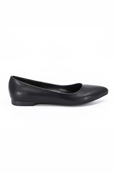 Kadın Siyah Günlük Babet Ayakkabı