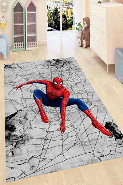 Örümcek Adam Desenli Dijital Baskılı Halı