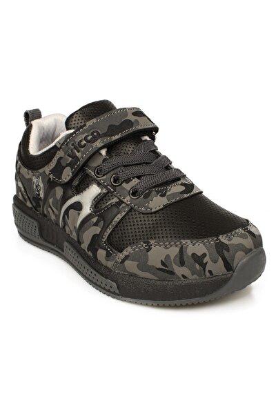 Erkek Çocuk Gri Bağıcıklı  Sneaker
