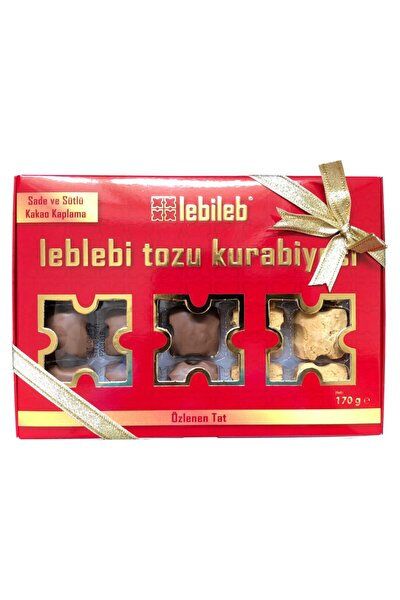 Karışık Leblebi Tozu Kurabiyesi (2 Paket) (170 Gr + 170 Gr)