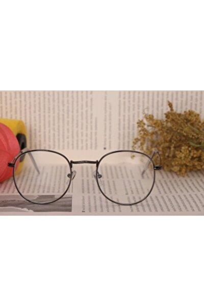Organik Camlı Unisex Vintange Gözlük Dlp0011