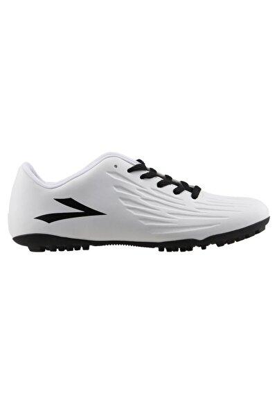 Erkek Beyaz Siyah Halı Saha Ayakkabı