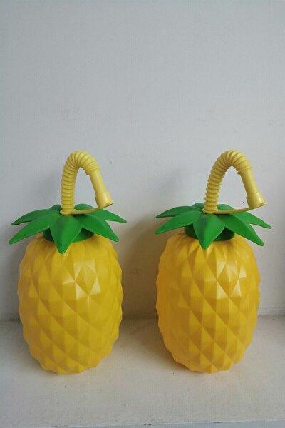 Tropic Esintili Ananas Pipetli Suluk 2'Li