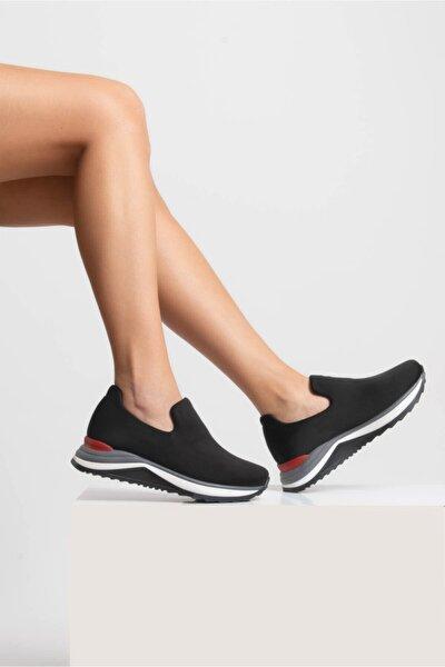 Kadın Siyah Dalgıç Ayakkabı