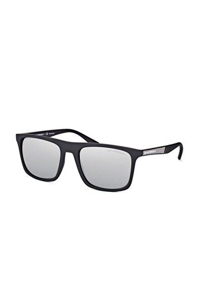 Unisex Siyah Polarize Güneş Gözlüğü Ea 4097 5042/z3 56