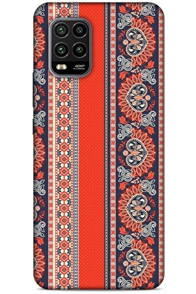 Ethnic Culture Xiaomi Mi 10 Lite Silikon Kapak Desenli Kılıf
