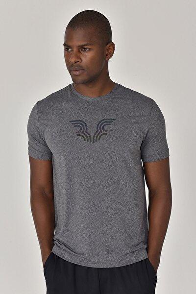 Erkek Antrasit T-Shirt GS-8879