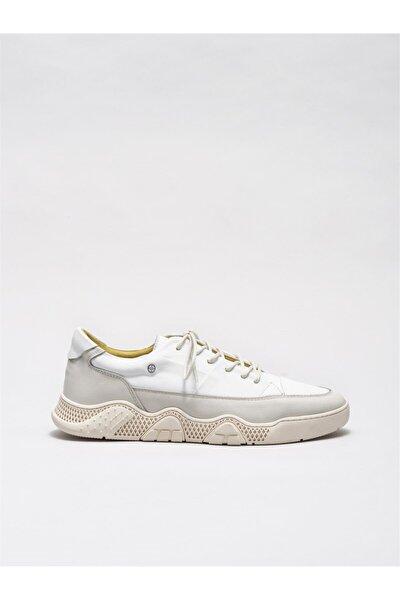 Erkek Akash-1 Beyaz Casual Ayakkabı 20KTN2522-1