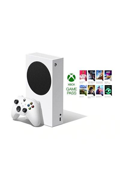 Xbox Series S 512GB SSD Oyun Konsolu  3 Ay Gamepass Ultimate Hediye