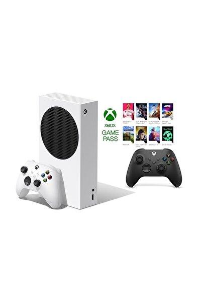 Xbox Series S 512GB SSD Oyun Konsol + 1 Kol Siyah + 1 Yıl Live Gold + GamePass