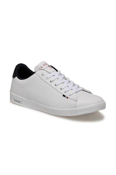 U.s. Polo Assn. Franco Beyaz Erkek Kadın Günlük Ayakkabı Sneaker