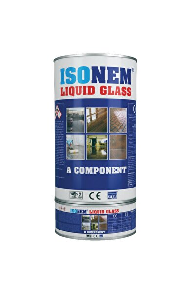 Liquid Glass Sıvı Cam Şeffaf Ve Parlak Su Izolasyonu 2 Kg