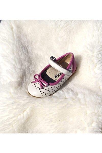 Kız Bebek Beyaz Babet