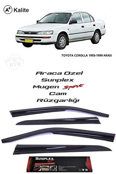 Toyota Corolla 93-98 Cam Rüzgarlığı Marka Mugen 4'lü
