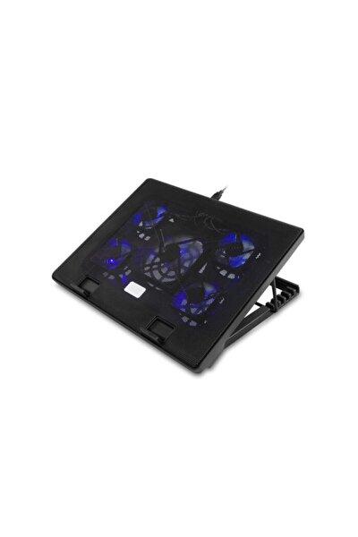 """15""""-17"""" Notebook Soğutucu Stand 5*mavi Led Fan 2*usb 6 Farklı Kademe Ayarı"""