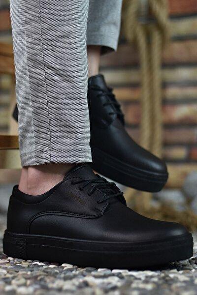 Siyah Siyah Erkek Sneaker