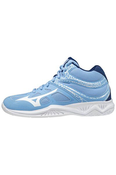 Thunder Blade 2 Mid Kadın Voleybol Ayakkabısı Mavi