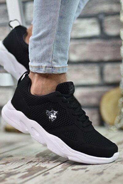 Siyah Füme Beyaz Erkek Sneaker 00122020