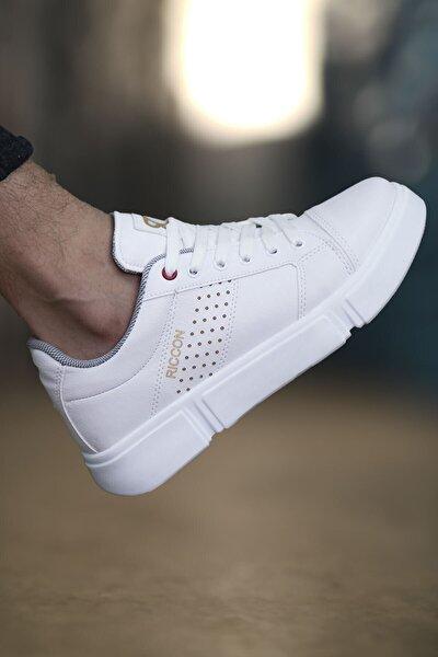 Beyaz Beyaz Erkek Sneaker 0012Y10