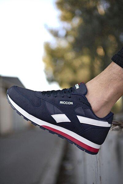 Lacivert Unisex Cilt Sneaker 0012853