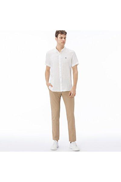 Erkek Slim Fit Slim Fit Kahverengi Pantolon HH0980