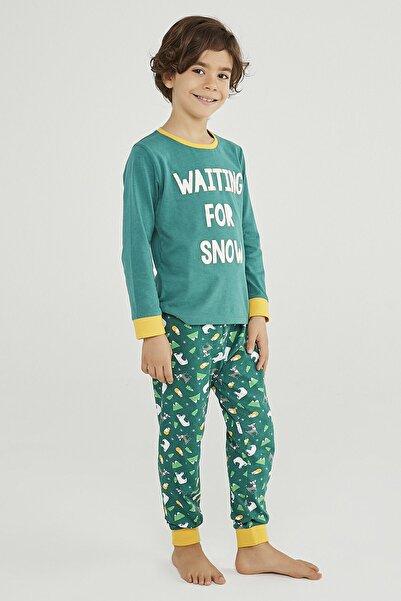 Erkek Çocuk Wınter Story 2Li Pijama Takımı