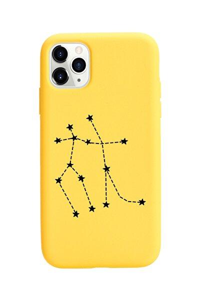 Ikizler Burcu Yıldız Haritası Tasarımlı Iphone 11 Pro Kılıf