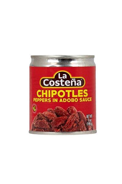 Chipotle Peppers 199gr ( 7 Oz ) Adobo Soslu Tütsülenmiş Meksika Jalapeno Biberi