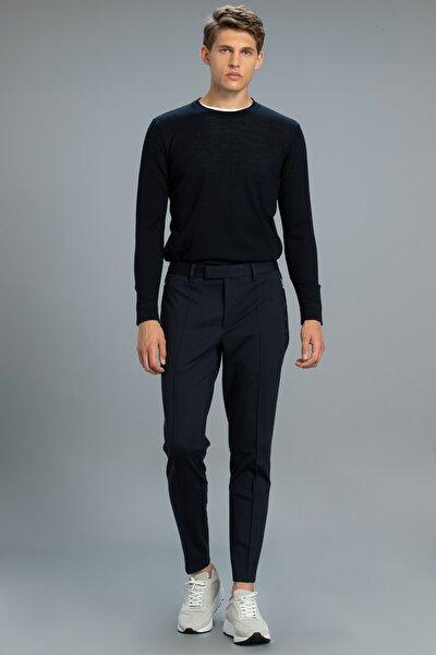 Erkek Lacivert Melon Smart Chino Pantolon Slim Fit Pantolon