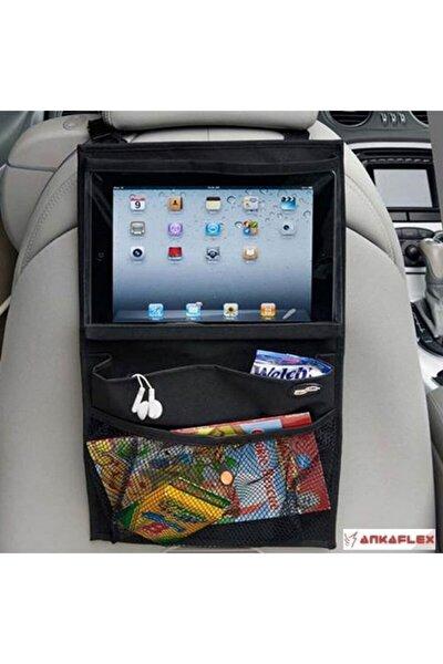 Oto Koltuk Arkası Tablet Tutucu Araç Koltuk Arkası Organizer Pratik Eşya Düzenleyici Çanta