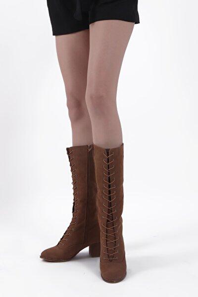 Kadın Kahverengi Çizme BOT0025