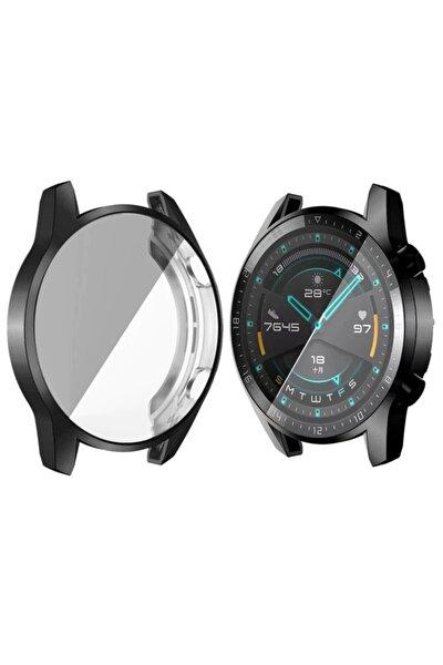 Honor Magic Watch 2 (46mm) 360 Tam Koruma Silikon Kılıf Şeffaf