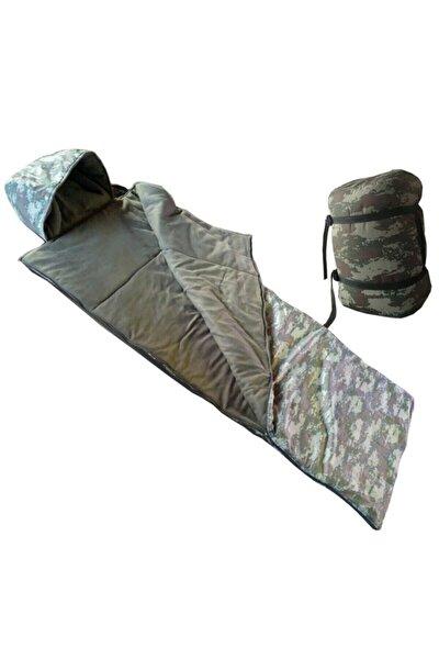 Kamuflaj Kışlık Uyku Tulumu Askeri Tulum -10 Derece