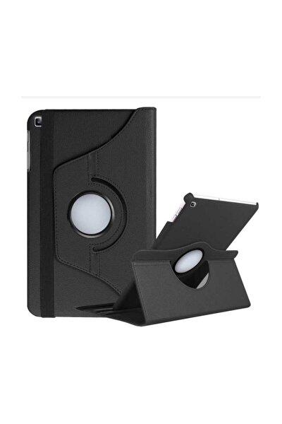 Siyah Galaxy Tab A 8.0 2019 T290 Tablet Kılıf Dönebilen Standlı Kılıf