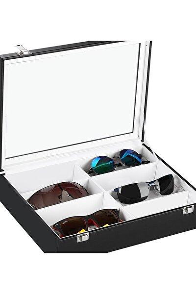 Deri Kaplamalı Gözlük Kutusu