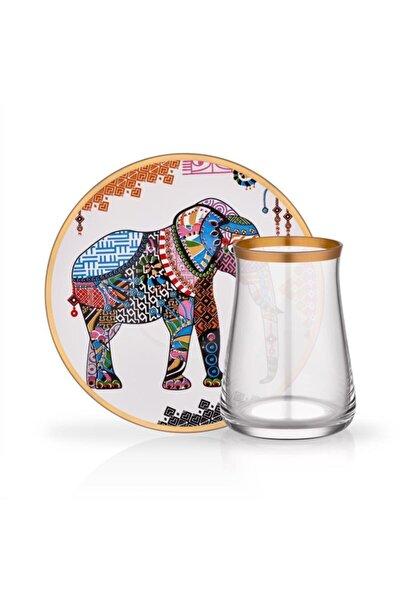 Elephant 6 Kişilik Çay Seti