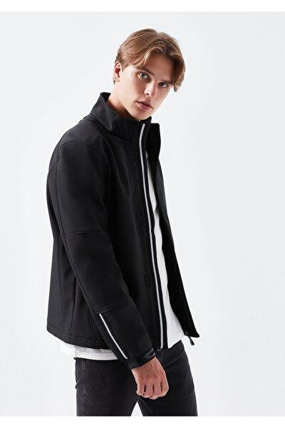 Dik Yaka Siyah Ceket