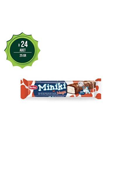 Miniki Sütlü Nugabar 25gr X24