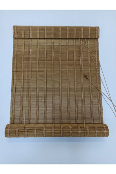 Ahşap Bambu Stor Perde Özel Üretim