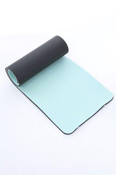 Turkuaz Siyah Yoga Mat 180 X 60 X 1,6 cm Df200