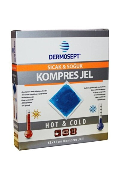 Sıcak Soğuk Termo Jel Kompres Buz Jel Termojel 13*13