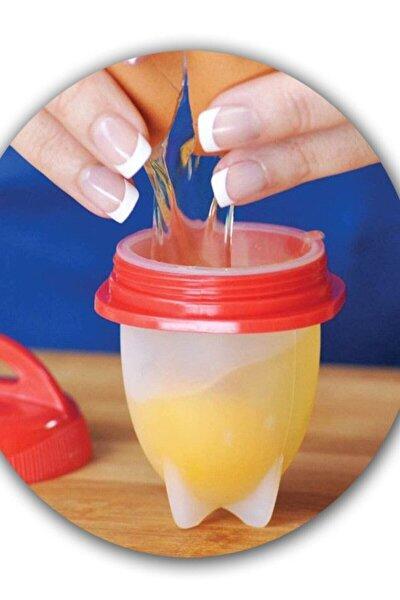 6'lı Silikon Yumurta Haşlama Ve Omlet Yapma Kabı