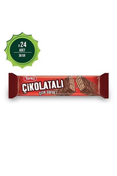 Çikolatalı Gofret 30 gr X24