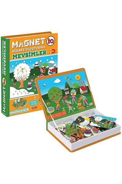 Diytoy, Manyetik Mevsimler, Magnet Hikaye Oluşturma, Eğitici Puzzle