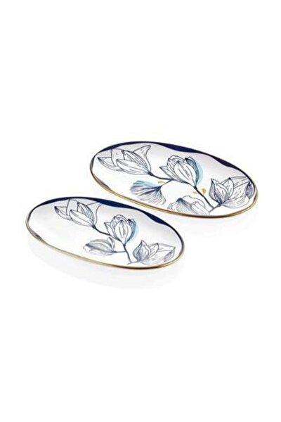 Bleu Oval Servis 2'li Set 26 cm x 29 cm