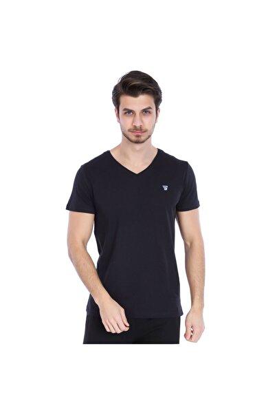 Spo-flavebasic Erkek Siyah Günlük Stil Tişört 710387-00b-sp