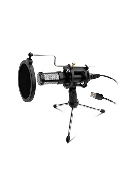 Elite Streaming Usb Mikrofon For Pc And Laptop Dmk7722