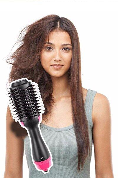 One Step Saç Düzleştirici Kurutmalı Fırça Tarak