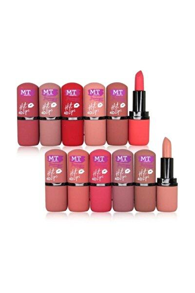 4d Hot Lips 12'li Ruj Seti